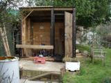 Home Close Hole: Flat Pack digging Hut